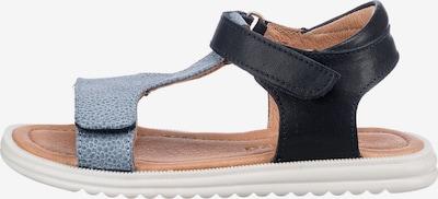 BISGAARD Sandalen in blau / braun, Produktansicht