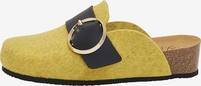 SCHOLL Hausschuhe 'Amalfi Clog' in gelb, Produktansicht