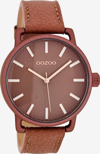 OOZOO Uhr  'C8312' in braun, Produktansicht