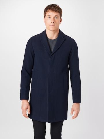 SELECTED HOMME Between-seasons coat 'HAGEN' in Blue