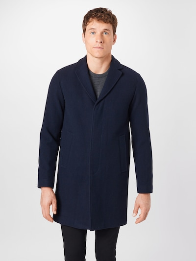 SELECTED HOMME Between-seasons coat 'HAGEN' in dark blue, View model