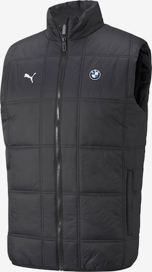 PUMA Sportbodywarmer 'BMW M' in de kleur Gemengde kleuren / Zwart, Productweergave