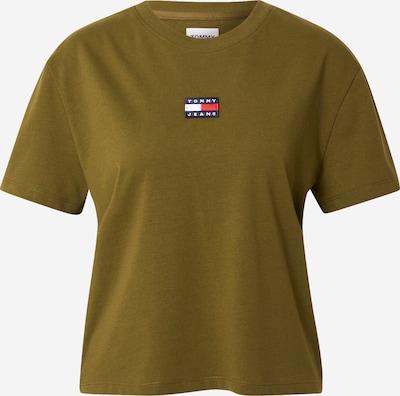 Tommy Jeans T-Shirt in navy / oliv / rot / weiß, Produktansicht