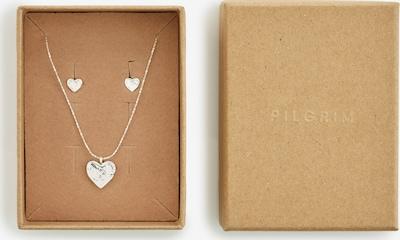 Pilgrim Parure de bijoux 'Augusta' en argent, Vue avec produit