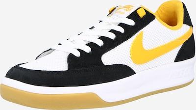 sárga / fekete / fehér Nike SB Rövid szárú edzőcipők 'Adversary', Termék nézet