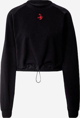 Sweat-shirt 'Elisa' VIERVIER en noir