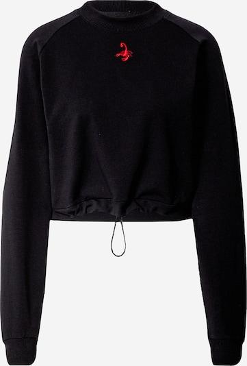 VIERVIER Sweatshirt 'Elisa' in de kleur Zwart, Productweergave