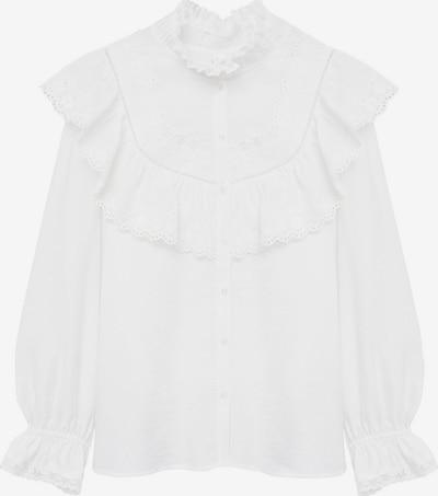 MANGO Bluse 'Victoria' in weiß, Produktansicht