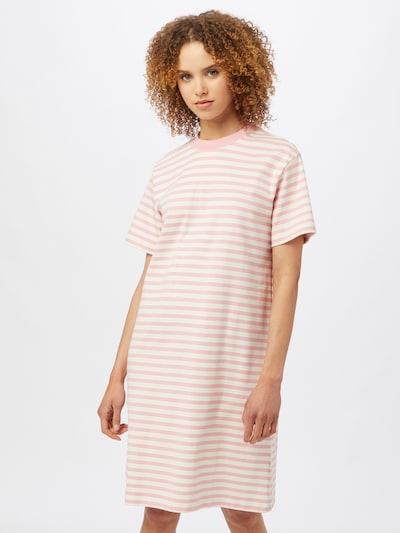 BOSS Casual Kleid 'Enchy' in rosa / weiß, Modelansicht