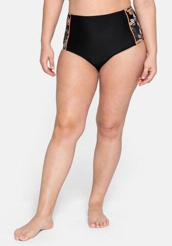 SHEEGO Bikinihose in Schwarz
