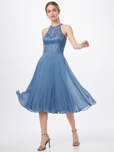 VM Vera Mont Kleid in blau, Modelansicht