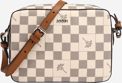 JOOP! Tasche 'Cloe' in creme / braun / hellgrau, Produktansicht