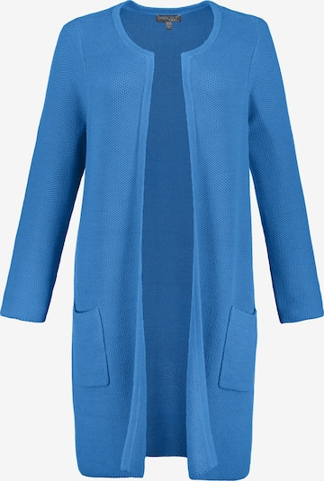 Ulla Popken Cardigan in blau: Frontalansicht