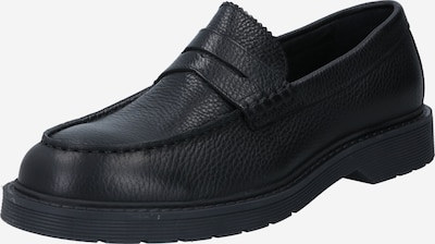 SELECTED HOMME Slip On cipele 'SLHTIM LEATHER DETAIL PENNY LOAFER B' u crna, Pregled proizvoda