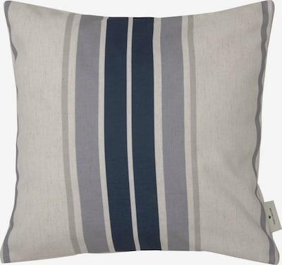 TOM TAILOR Kissen in beige / blau / grau, Produktansicht