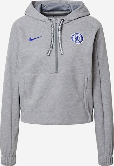 NIKE Sweat de sport 'Chelsea FC' en bleu / gris chiné, Vue avec produit