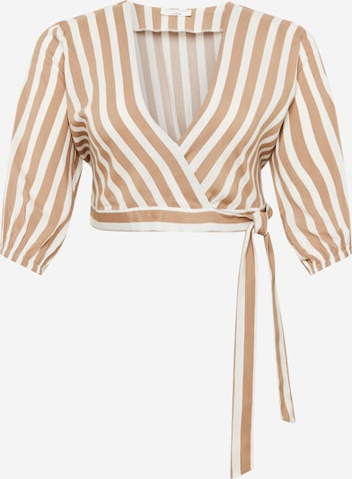 Guido Maria Kretschmer Curvy Collection Blouse 'Clara' in Beige / White, Item view