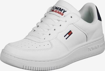 Tommy Jeans Niske tenisice u mornarsko plava / vatreno crvena / bijela, Pregled proizvoda