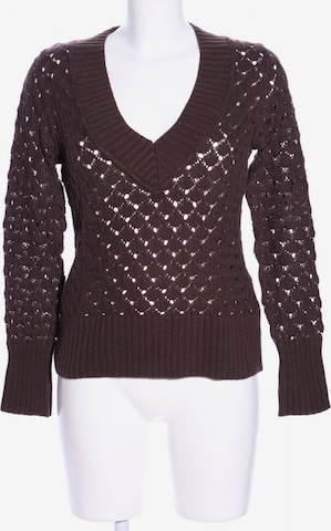 Basic Line Sweater & Cardigan in S in Brown