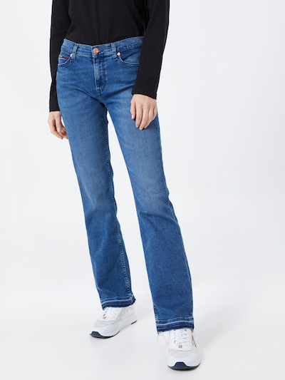 Tommy Jeans Jeans 'Maddie' in blue denim, Modelansicht