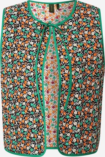 Résumé Chaleco 'Gwen' en crema / verde / naranja / negro / blanco, Vista del producto