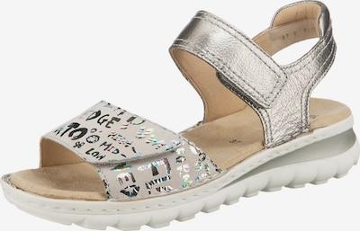 ARA Sandale in taupe / silber, Produktansicht