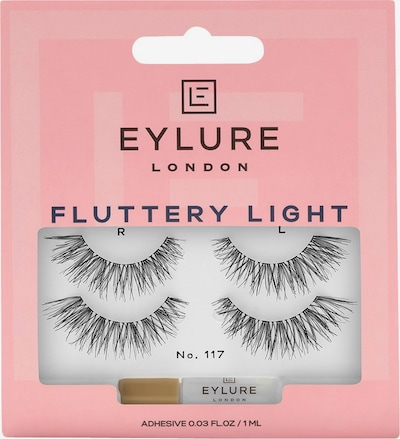 Eylure Artificial Eyelashes 'Fluttery Light' in Black, Item view