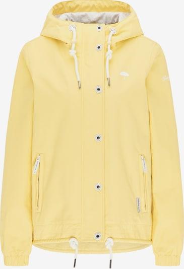 Schmuddelwedda Übergangsjacke in gelb / weiß, Produktansicht