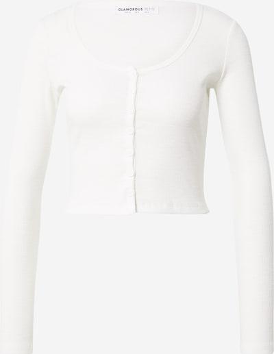 GLAMOROUS Camiseta en blanco, Vista del producto