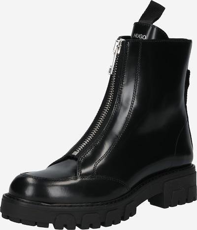 Botine 'Axel' HUGO pe negru, Vizualizare produs