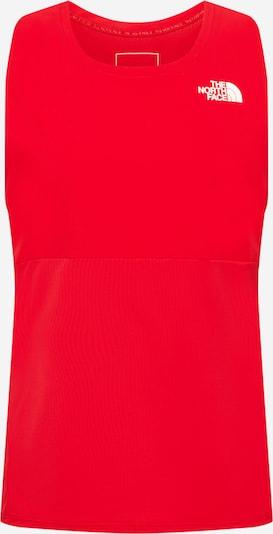 THE NORTH FACE T-Shirt fonctionnel en rouge, Vue avec produit