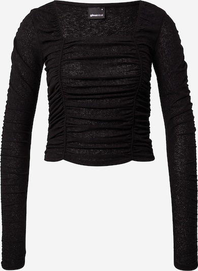 Gina Tricot T-shirt 'Rita' en noir, Vue avec produit