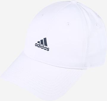 ADIDAS PERFORMANCE Athletic Cap in White