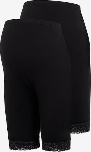 MAMALICIOUS Shorts in schwarz, Produktansicht