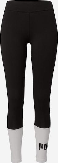 Leggings 'Essentials+' PUMA di colore nero / bianco, Visualizzazione prodotti