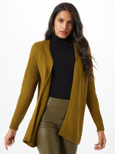 VERO MODA Strickjacke 'Jenny' in oliv, Modelansicht