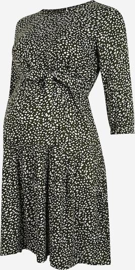 MAMALICIOUS Kleid in grün / weiß, Produktansicht