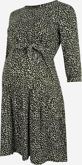 MAMALICIOUS Obleka | zelena / bela barva, Prikaz izdelka