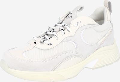 HUGO Sneaker 'Gilda' in creme / hellgrau / weiß, Produktansicht