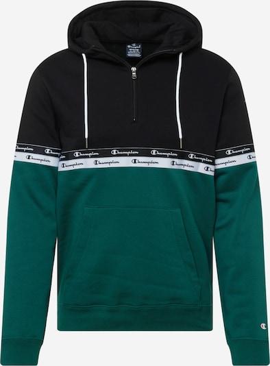 Champion Authentic Athletic Apparel Sweatshirt in petrol / schwarz / weiß, Produktansicht