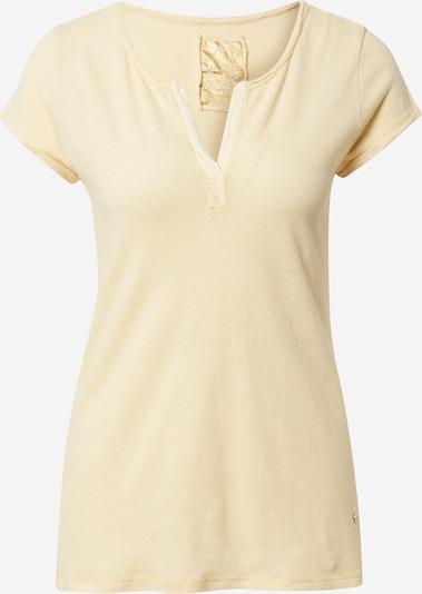 MOS MOSH T-shirt 'Troy' en jaune clair, Vue avec produit