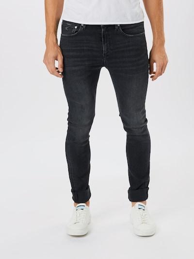 Calvin Klein Jeans Jean en noir denim, Vue avec modèle