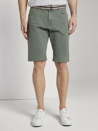 TOM TAILOR Shorts 'Josh' in grün, Modelansicht