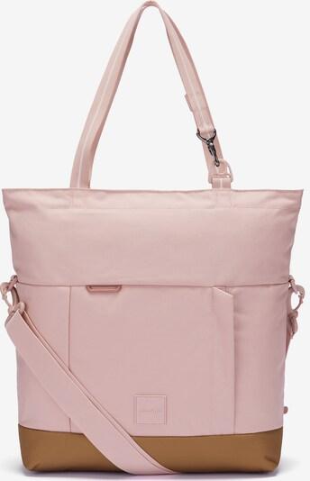 Pacsafe Tasche in braun / pink / rosa, Produktansicht