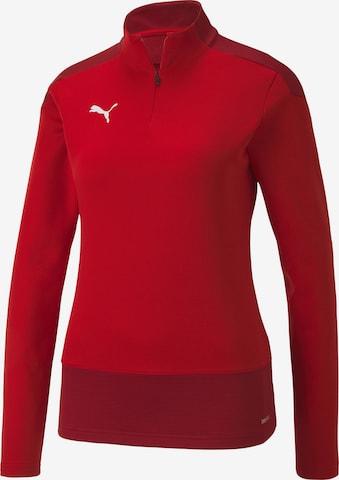 PUMA Athletic Sweatshirt in Red
