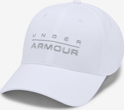 UNDER ARMOUR Kappe 'Wordmark' in silber / weiß, Produktansicht