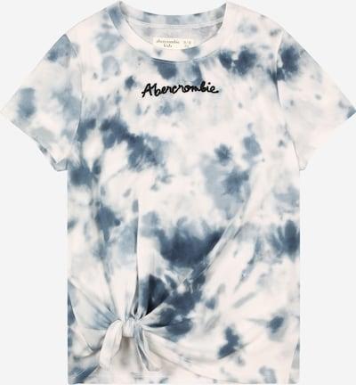 Abercrombie & Fitch Shirt in blau / schwarz / weiß, Produktansicht