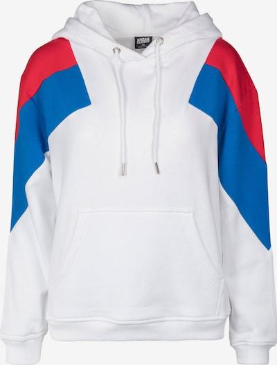 Urban Classics Sweatshirt in royalblau / rot / weiß, Produktansicht