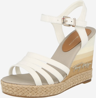 TOMMY HILFIGER Sandal in natural white, Item view
