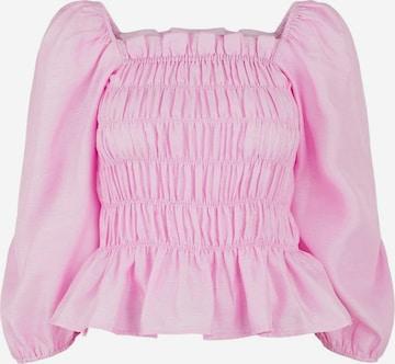 PIECES PCELVINE Bluse in Lila